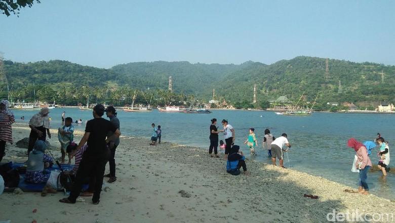 Foto: Pulau Merak Kecil (Muhammad Iqbal/detikTravel)