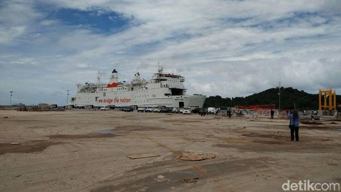 Ilustrasi Pelabuhan Banten. Foto: Muhammad Iqbal