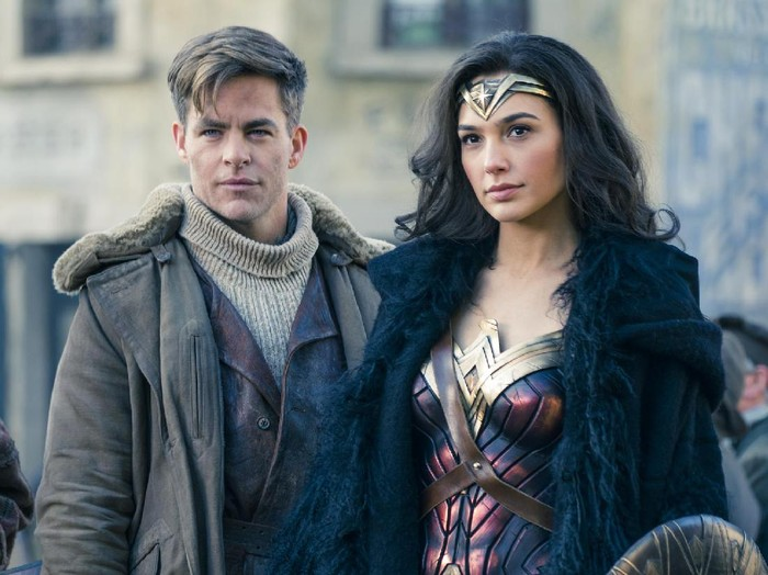 Screen Shoot film Wonder Woman.