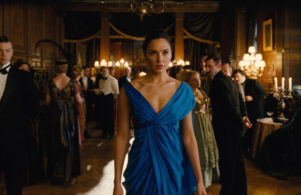 Screen shoot film 'Wonder Woman'.