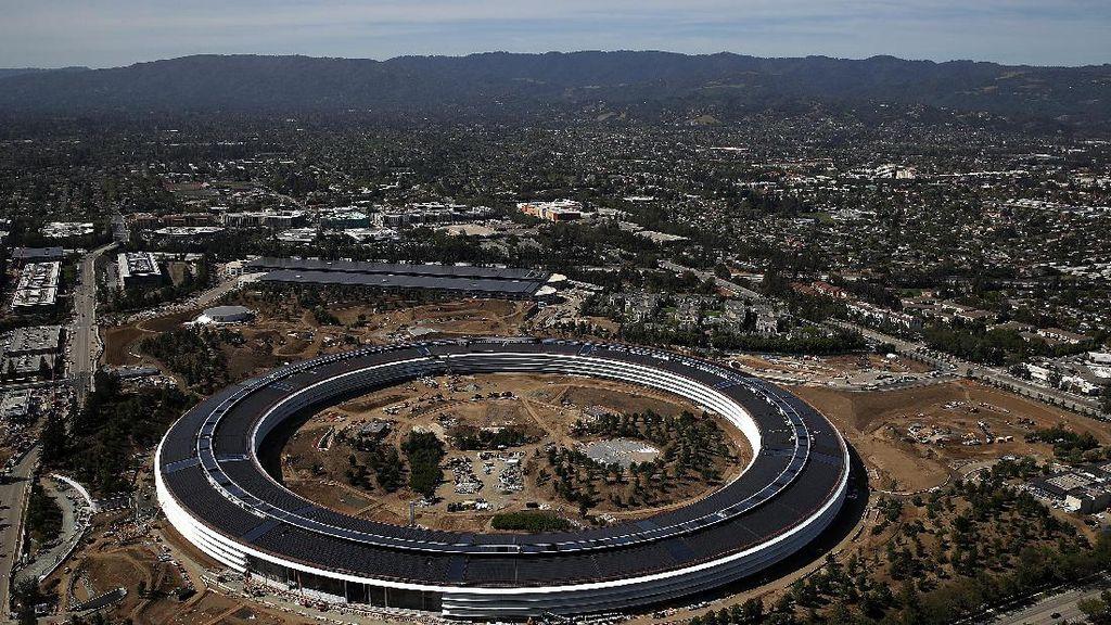 Markas UFO Apple bakal Makin Futuristik