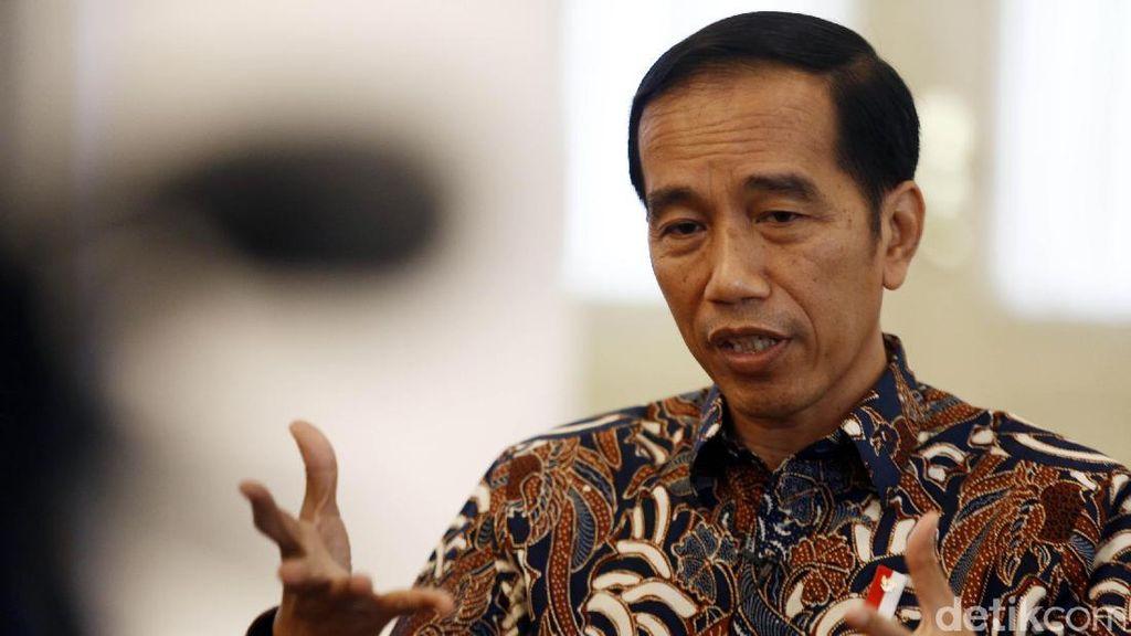 Buka Trade Expo, Jokowi Singgung Neraca Dagang RI Masih Defisit