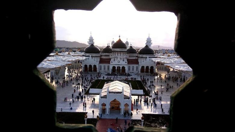 Masjid Baiturrahman (Agus Setyadi/detikTravel)