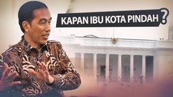 Ibu Kota Baru Hampir Pasti di Kalimantan, Lokasinya Terserah Jokowi