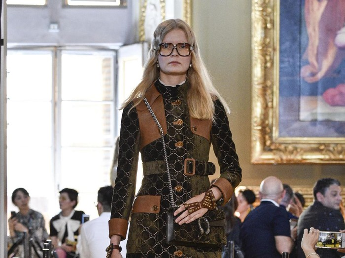 Fashion show Gucci. (Foto: Getty Images)