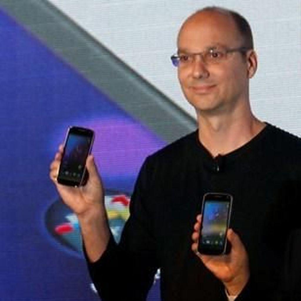 Kisah Bapak Android Dimaki-maki Steve Jobs