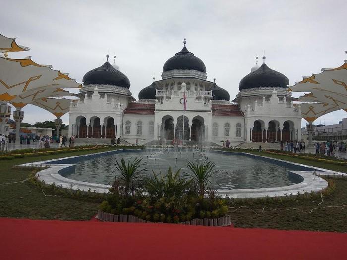 Masjid Baiturrahman di Aceh