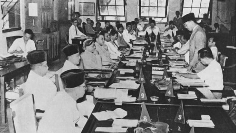 Image result for menjelang 1 Juni 1945