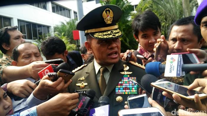 Panglima TNI Jenderal Gatot Nurmantyo (Muhammad Fida Ul Haq/detikcom)