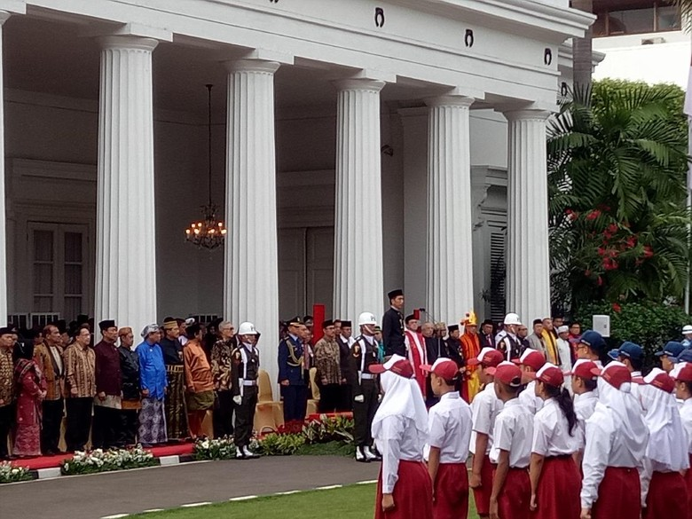 Jokowi Pimpin Upacara Hari Lahir Pancasila di Gedung Pancasila