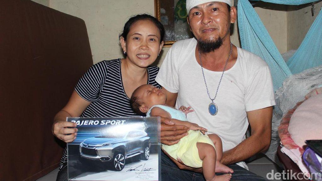 Bayi Bernama Pajero Sport Tinggal di Pamulang, Tangsel