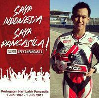 Netizen Viralkan 'Saya Indonesia Saya Pancasila'