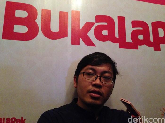 CEO Bukalapak Achmad Zaky. Foto: Agus Tri Haryanto/detikINET