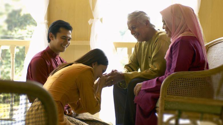 Kumpulan Ucapan Selamat Idul Fitri untuk Dikirimkan ke Keluarga/ Foto: Thinkstock