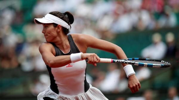 Muguruza Dipaksa Main Tiga Set, Wozniacki Menang <i>Double Bagel</i>