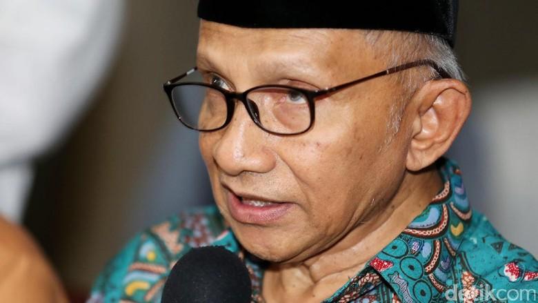 KH Maruf Bela Jokowi soal Kritikan Amien Rais