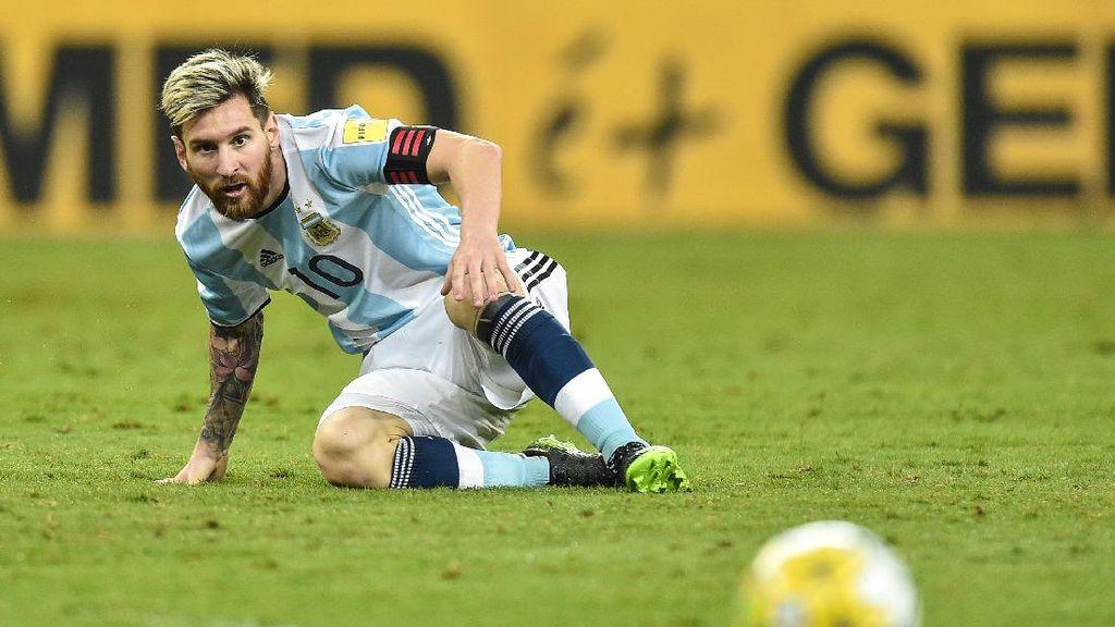 Messi Mau Tukar Gelarnya di Barca dengan Trofi Piala Dunia