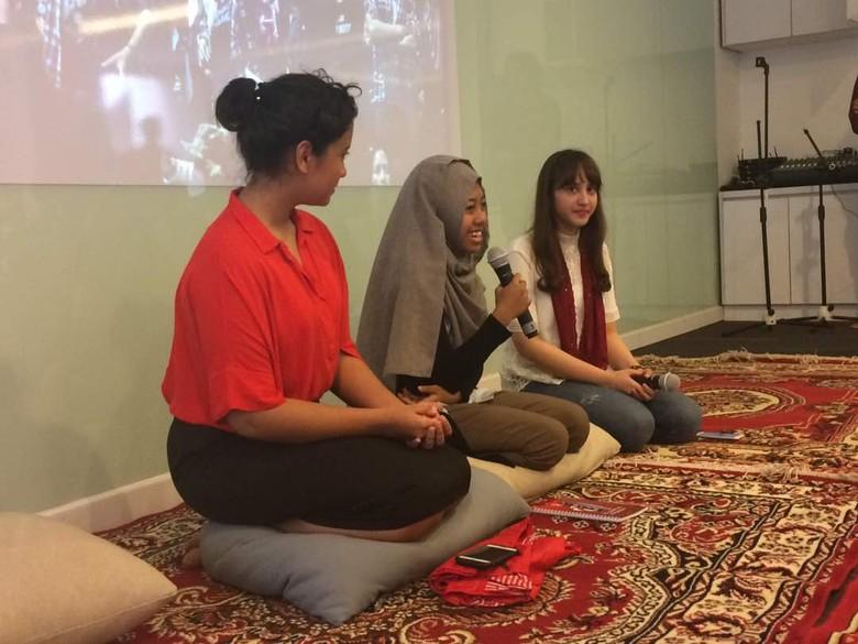 Afi dan Gloria Paskibraka Bicara soal Pancasila Bersama PSI