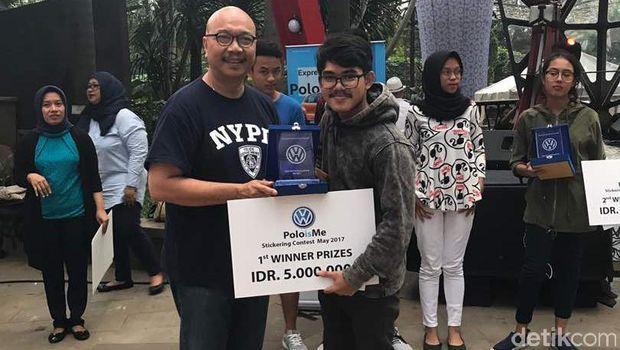 Pemenang VW Poloisme Stickering Contest