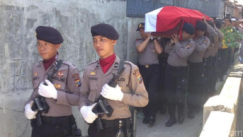 Polisi yang Tewas saat Lerai Perkelahian di Medan Naik Pangkat