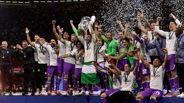 Real Madrid merupakan juara bertahan Liga Champions.