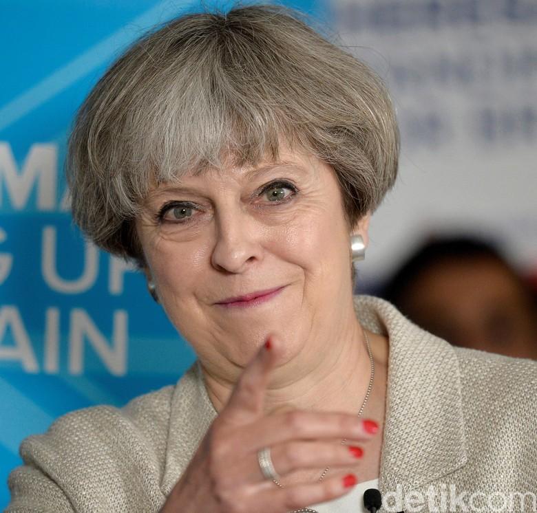 Ditelepon PM Inggris atas Lancarnya Pemilu Serentak, Jokowi Ucap Terima Kasih