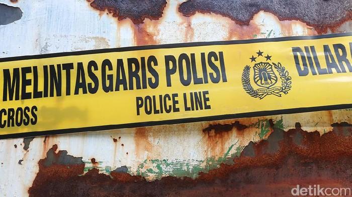 Ilustrasi Garis Polisi (Ari Saputra/detikcom)