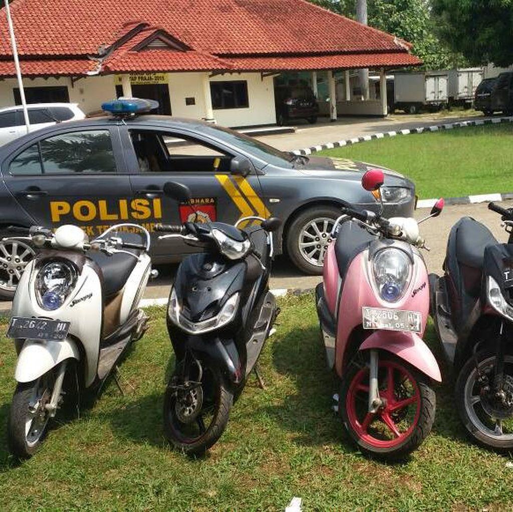 Komplotan Curanmor Dibekuk di Pekanbaru