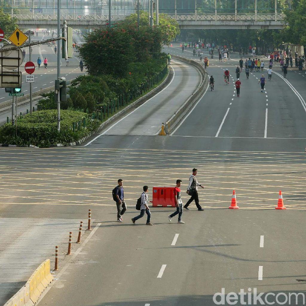 Dishub Usul CFD 26 Agustus Ditiadakan karena Marathon Asian Games
