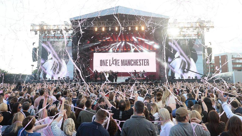 Konser One Love Manchester Pecahkan Rekor Siaran TV