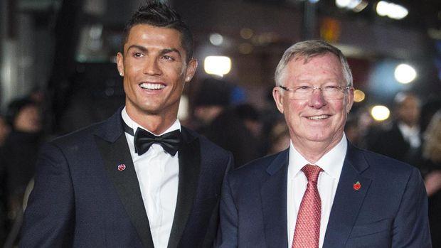 Ferguson jadi salah satu manajer terbaik Ronaldo.