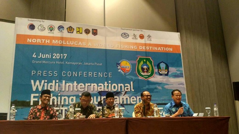 Foto: Jumpa pers Widi International Fishing Tournament (WIFT) 2017 (dok istimewa)