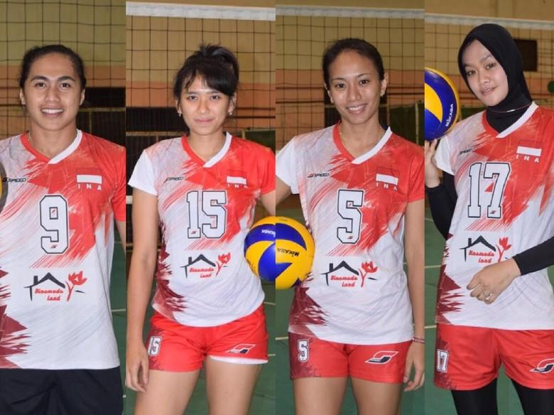 Yuk, Ngobrol Bersama 4 Atlet Cantik Timnas Voli Putri di detikSport