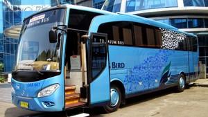 Banyak Mudik Gratis, Penyewaan Bus Blue Bird Laris Manis