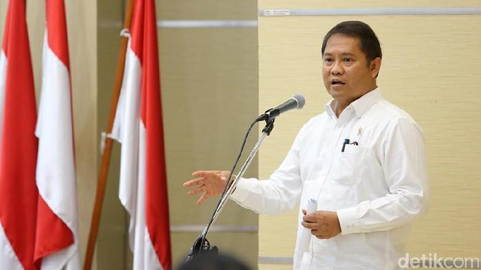 Menteri Komunikasi dan Informatika Rudiantara. Foto: Ari Saputra/detikINET