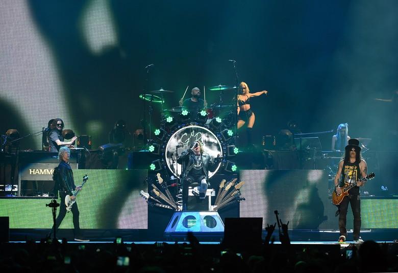 Pengumuman! Slash Dipastikan Ikut Guns N Roses Konser di Jakarta