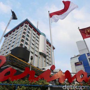 Demo Bawaslu Ricuh, Pusat Perbelanjaan Sarinah Ditutup