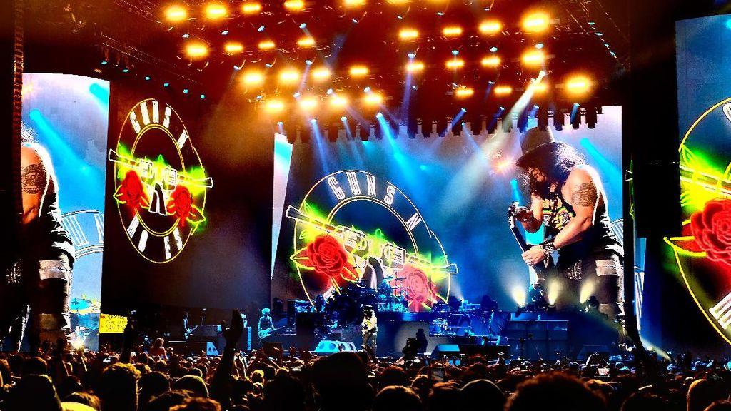 Dijual 27 Juni, Tiket Presale Konser Guns N Roses Dihargai Rp 250 Ribu
