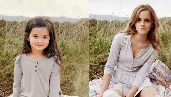 Lucunya Gadis Cilik Ini Kala Rayakan Kesembuhan Sang Nenek dari Kanker