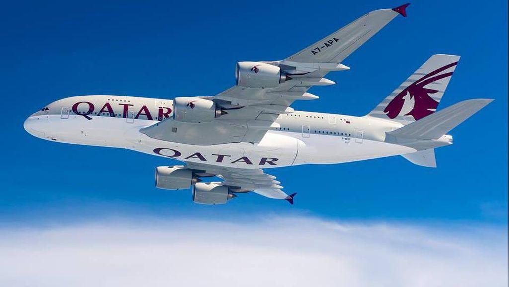 Qatar Airways Bagi-bagi Tiket Gratis untuk 100 Ribu Tenaga Medis