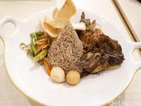 Umaramu Indonesian Noodle: Hangat Gurih Bihun Laksa Betawi dan Nasi Ayam Cabe Ijo