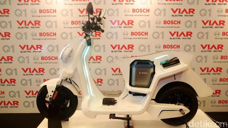 Motor listrik Viar Q1 Foto: Grandyos Zafna