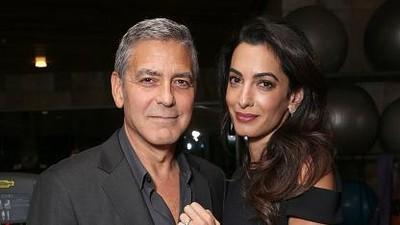 Bikin Melting! Saat Amal Clooney dan sang Suami Saling Memuji