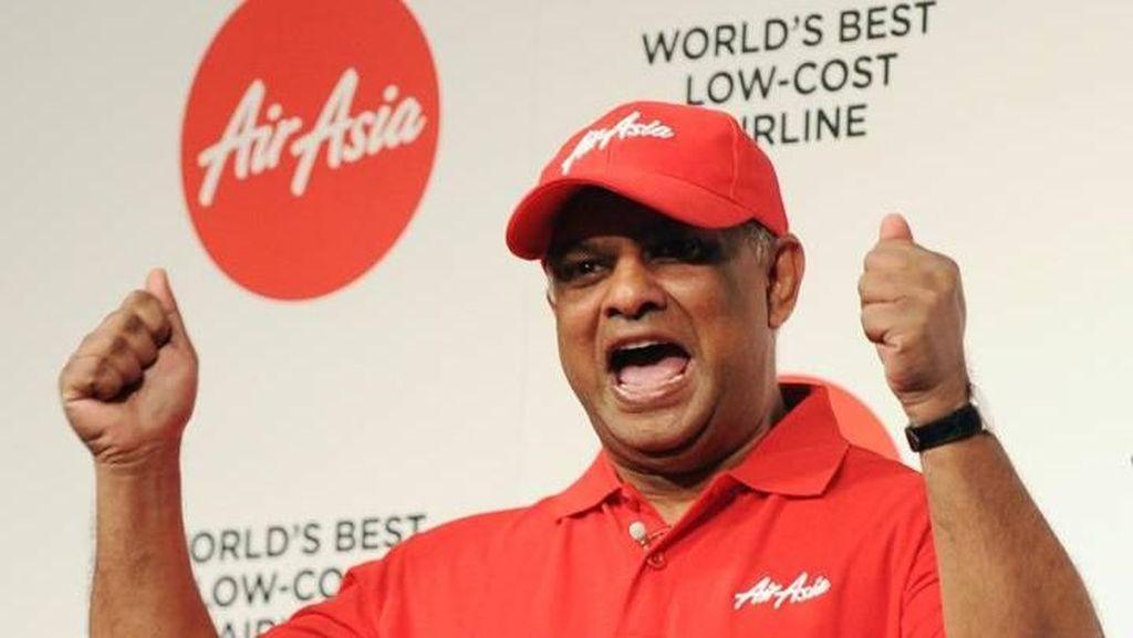 Bikin Heboh! Tony Fernandes Mundur dari AirAsia
