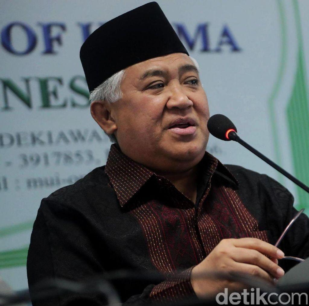 Pesan Din Syamsuddin untuk Jokowi dan Prabowo
