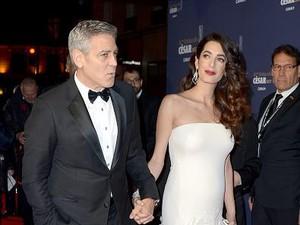 Mewahnya Kamar Bersalin Amal Clooney Seharga Rp 140 Juta per Malam