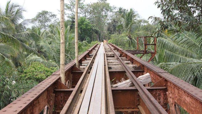 Ilustrasi rel kereta mati/Foto: Dok. PT KAI