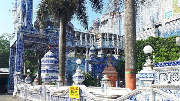 Sudut masjid yang sangat artistik (Aminudin/detikTravel)