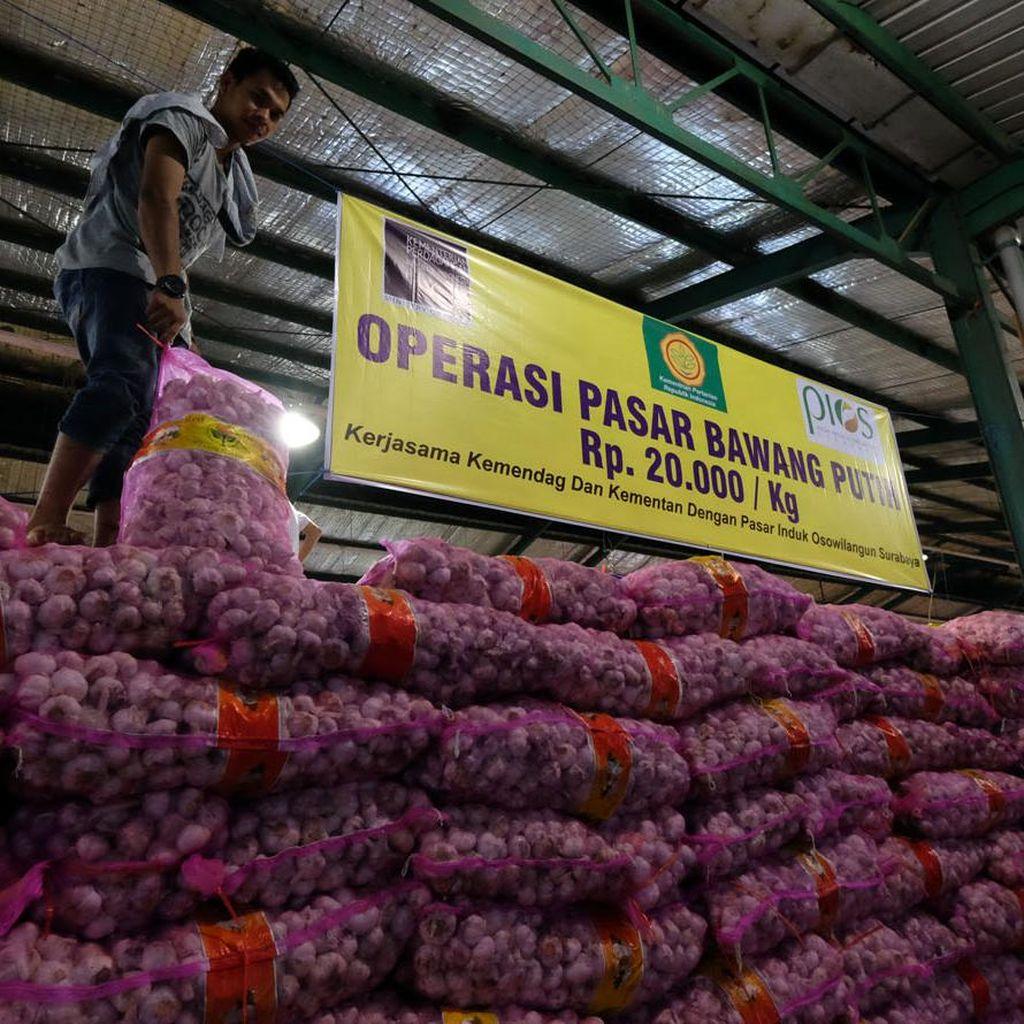 Bawang Putih Rp 45.000/Kg, Pemerintah Impor 100.000 Ton Bulan Depan