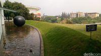 Taman dan kolam (Mukhlis/detikTravel)